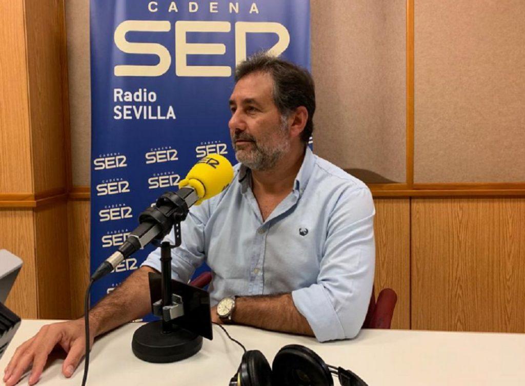 El director de Centro Psicosanitario Galiani y psicólogo, José Antonio Galiani, durante una entrevista en Cadena Ser.