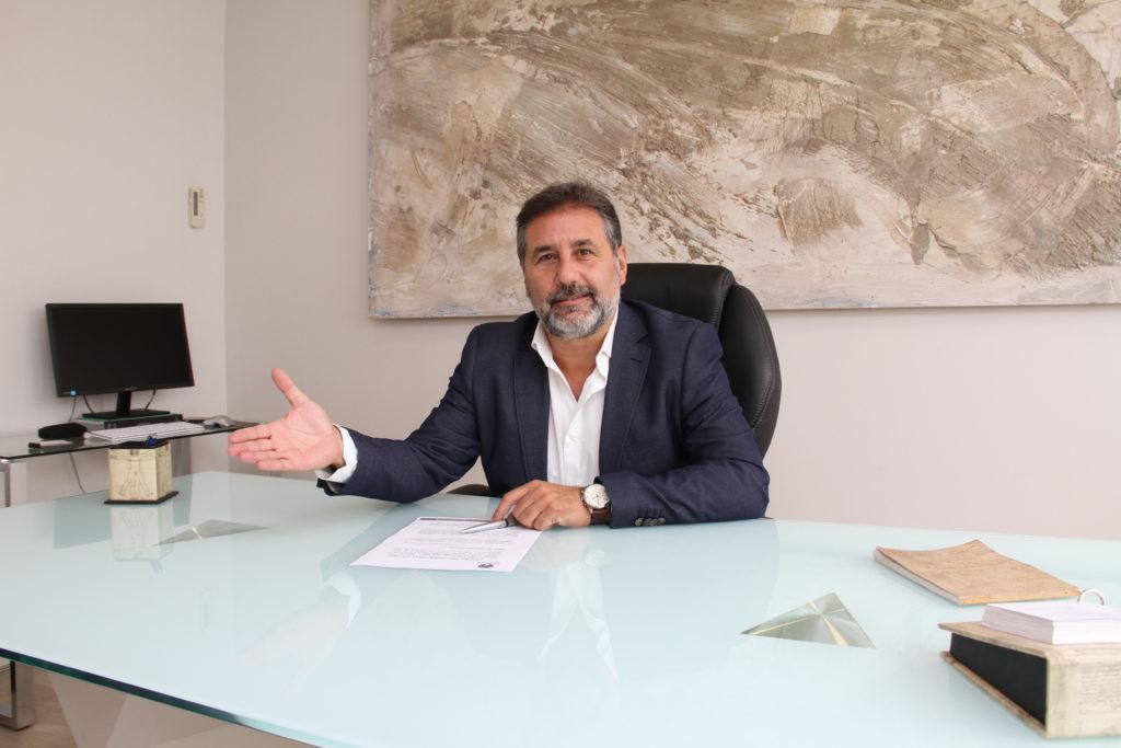El director de Centro Psicosanitario Galiani y psicólogo, José Antonio Galiani.