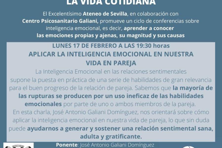 Charlas sobre Inteligencia Emocional