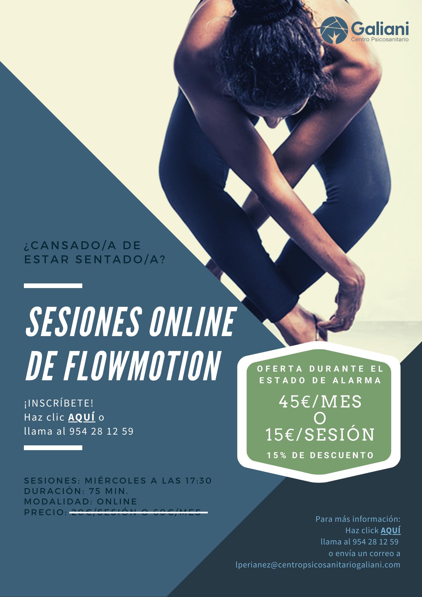 Sesiones de FlowMotion Online