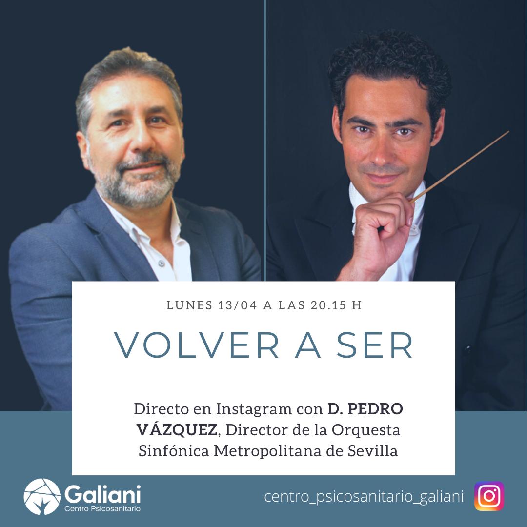 Primer directo de Instagram con Pedro Vázquez