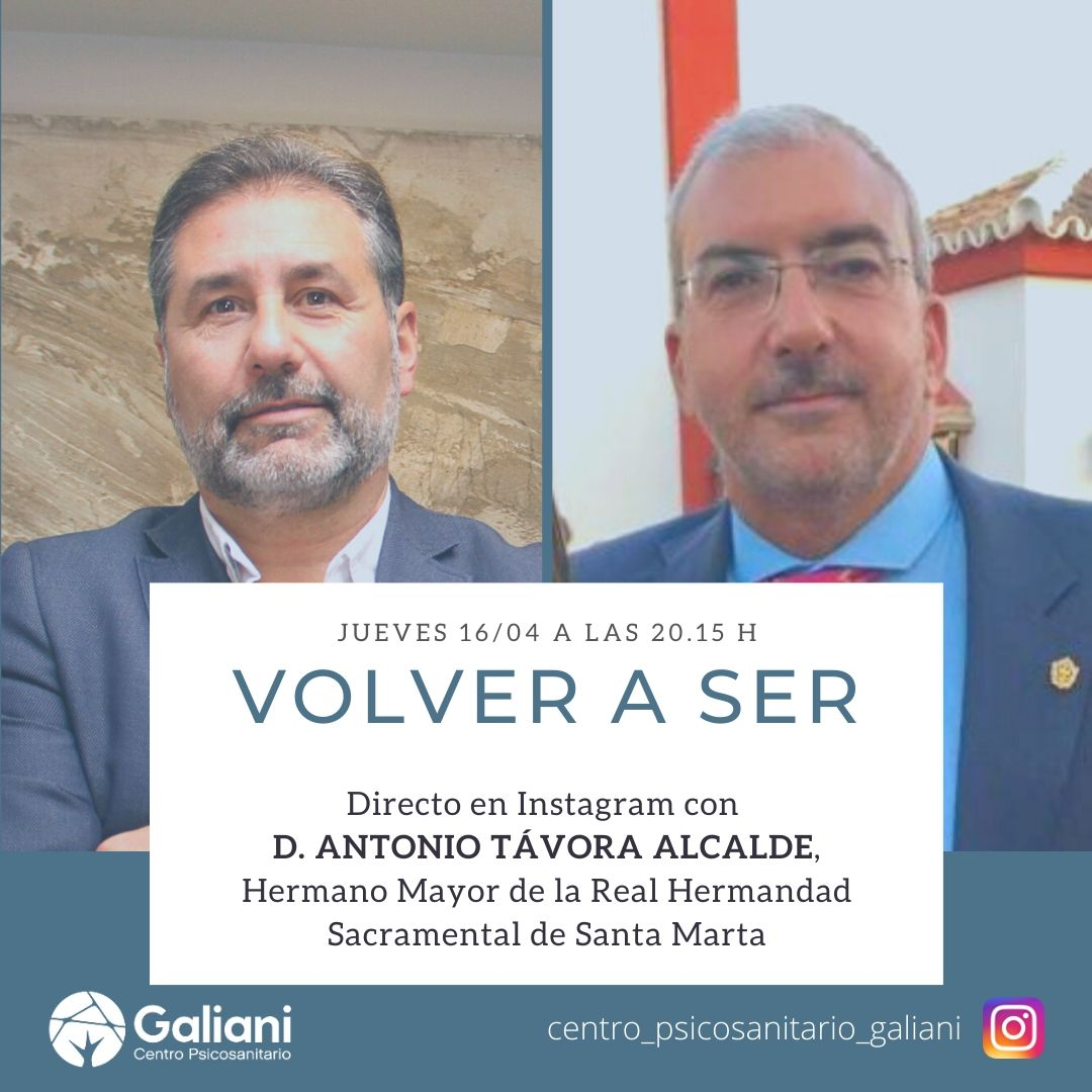 Cuarto directo de Instagram con Antonio Távora, Hermano Mayor de la Hdad de Santa Marta