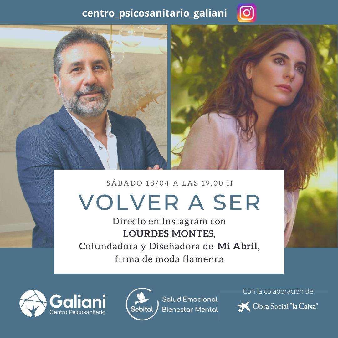 Sexto directo de Instagram con Lourdes Montes, Cofundadora y diseñadora de Mi Abril, firma de moda flamenca