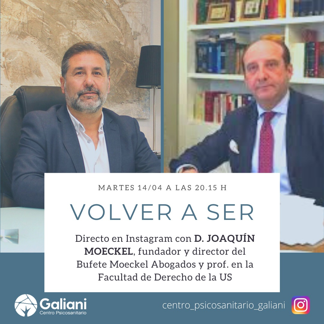 Segundo directo de Instagram con el abogado Joaquín Moeckel