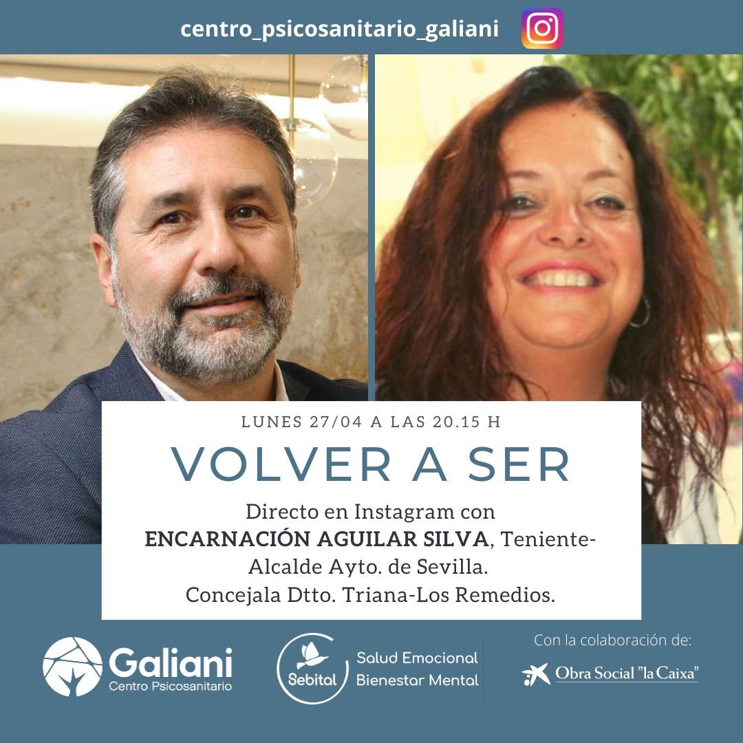 Directo con Encarnación Aguilar, Teniente Alcalde del Ayuntamiento de Sevilla