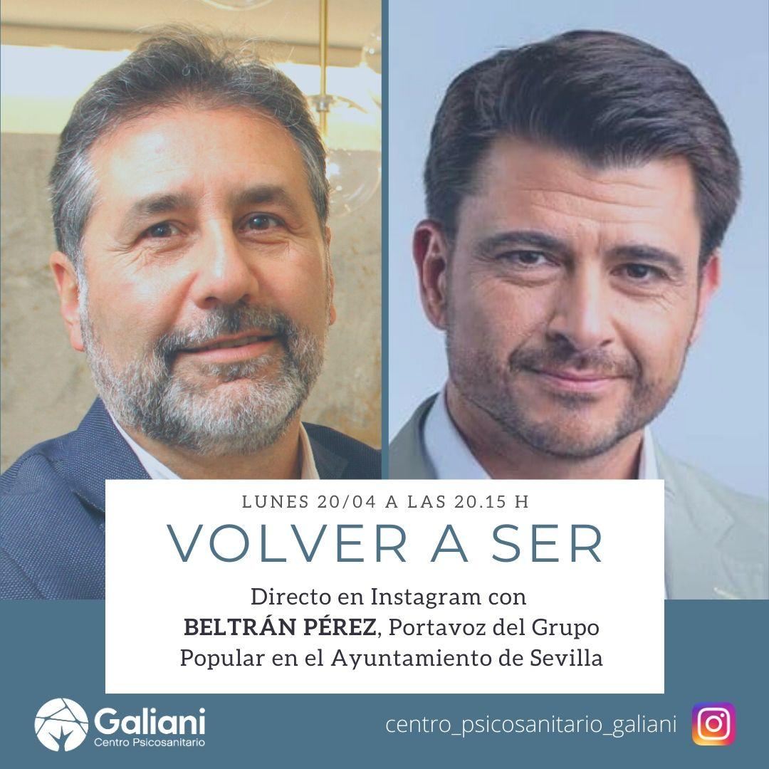 Directo de Instagram con Beltrán Pérez, Portavoz del Grupo Popular en el Ayuntamiento de Sevilla