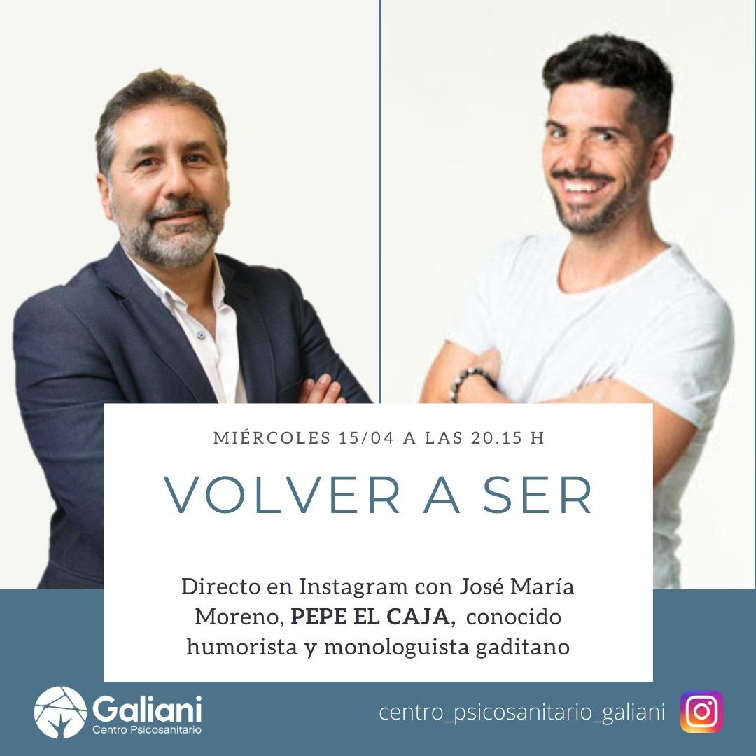 Tercer directo de Instagram con el humorista Pepe El Caja
