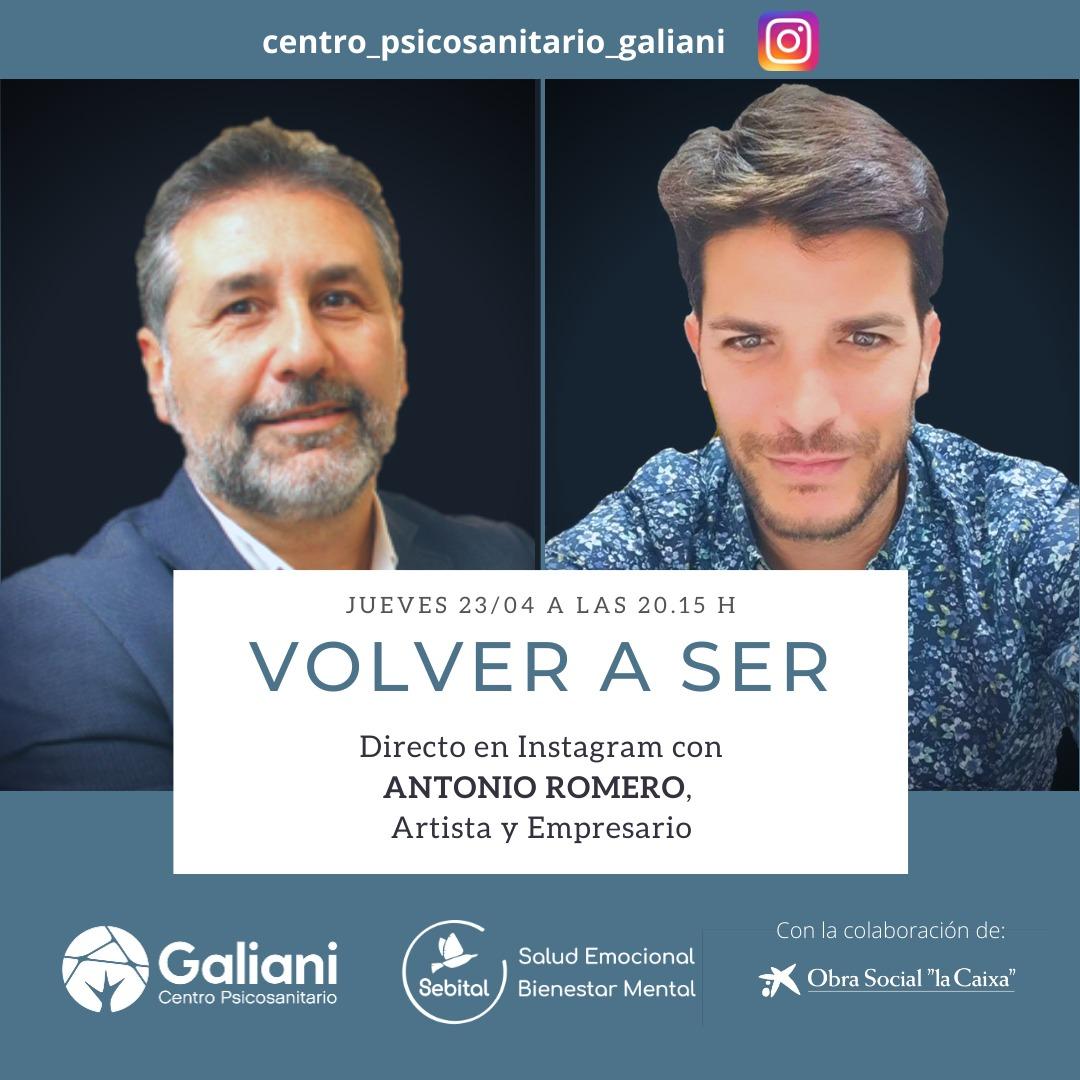 Directo de Instagram con Antonio Romero, Artista y empresario