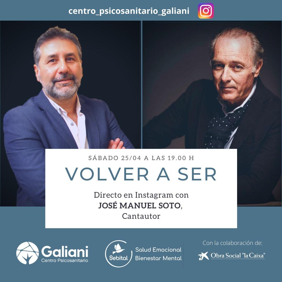 Directo con José Manuel Soto, Cantautor