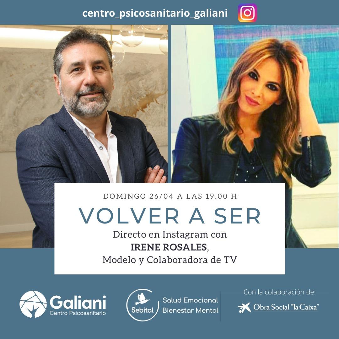 Directo con Irene Rosales, Modelo y colaboradora de Televisión