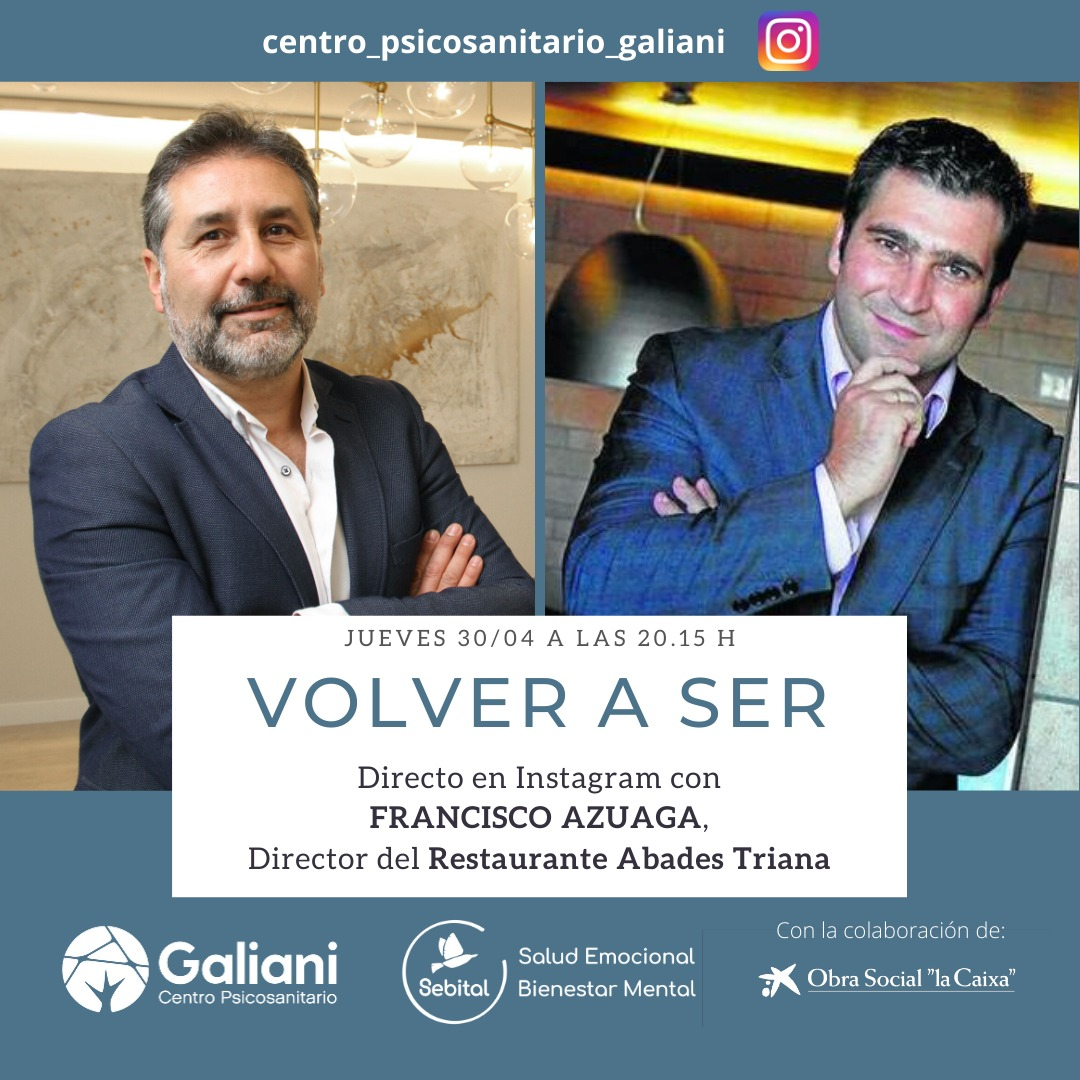 Directo con Francisco Azuaga, Director del Restaurante Abades Triana