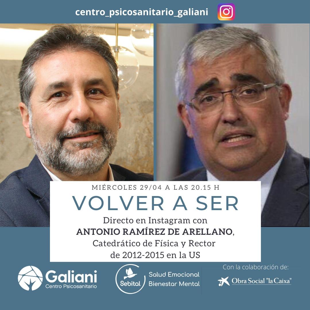 Directo con Antonio Ramírez de Arellano, Catedrático de Física y Rector de la US (2012-2015)