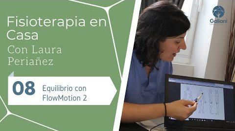 Fisioterapia en Casa: Equilibrio con FlowMotion 2