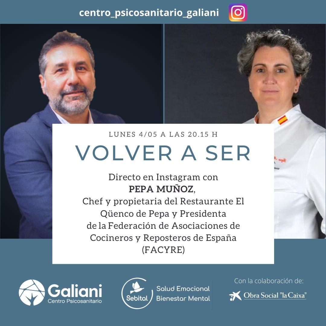 Directo con Pepa Muñoz, Chef y presidenta de Facyre