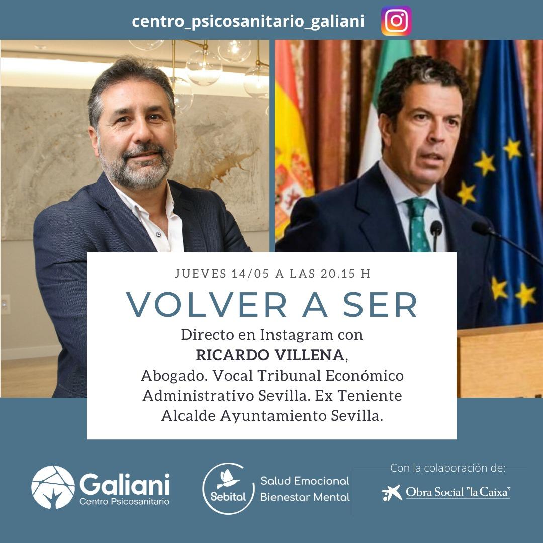 Directo con Ricardo Villena, Abogado y Ex Teniente Alcalde del Ayuntamiento de Sevilla