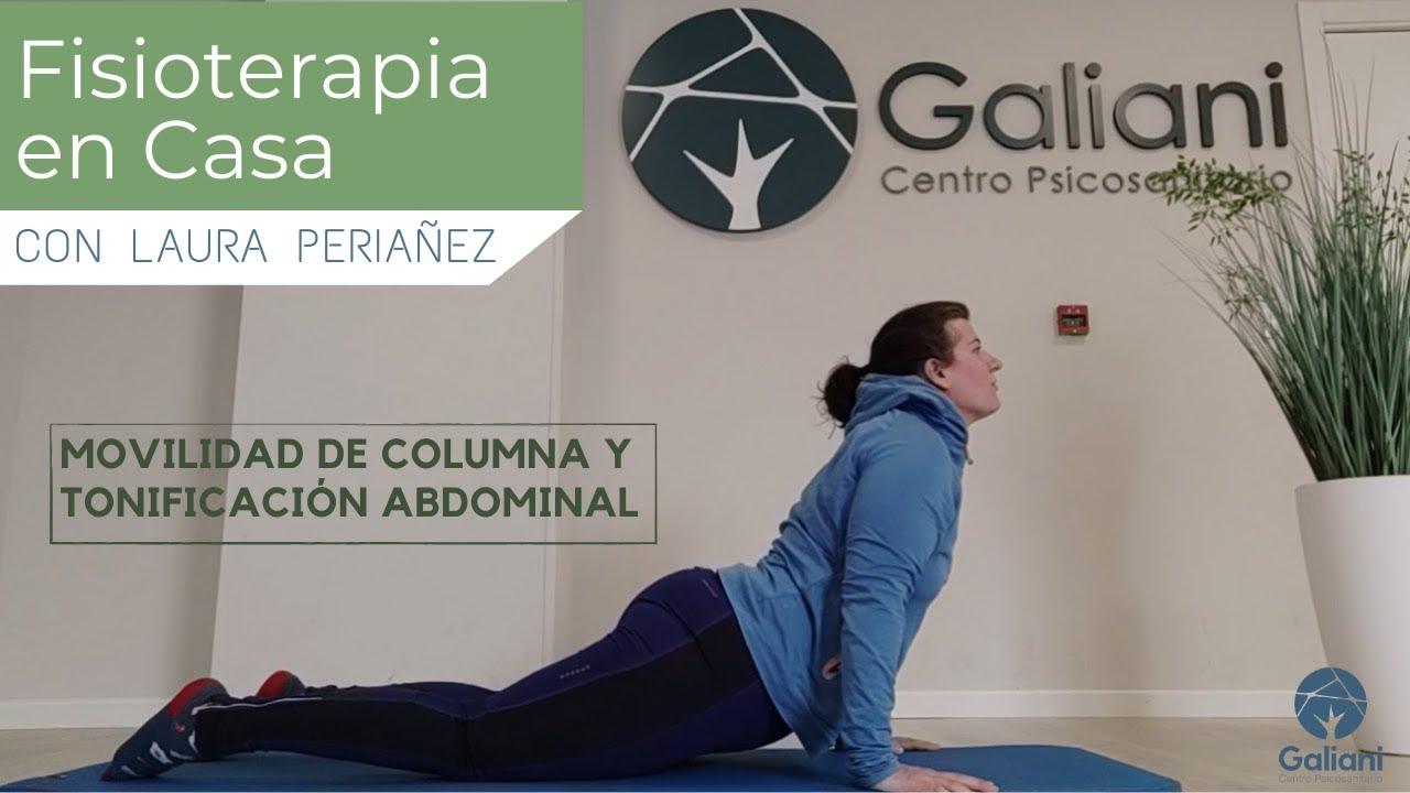 FISIOTERAPIA EN CASA 12| Movilidad de Columna y Tonificación Abdominal