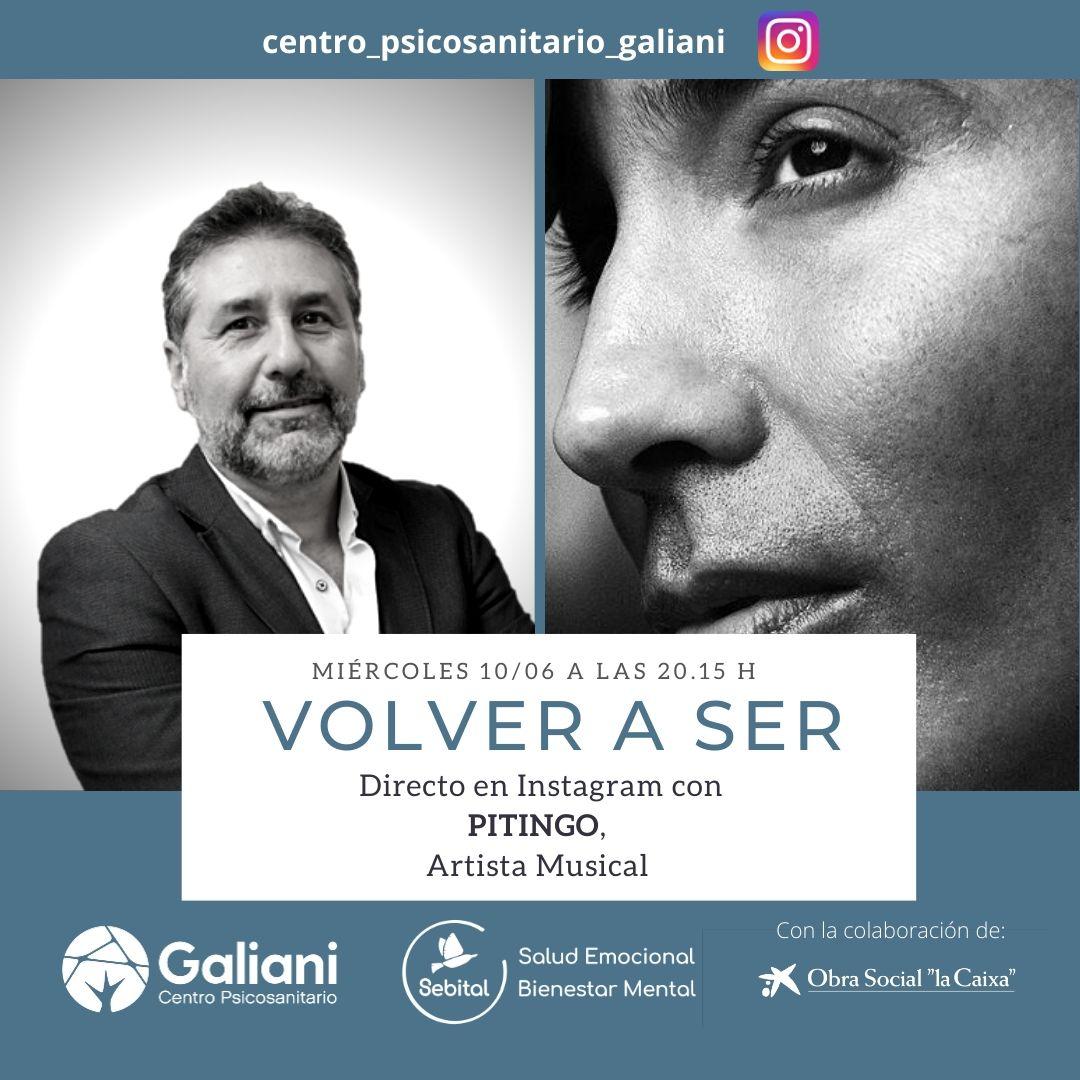 'Volver a Ser' con Pitingo, Artista Musical