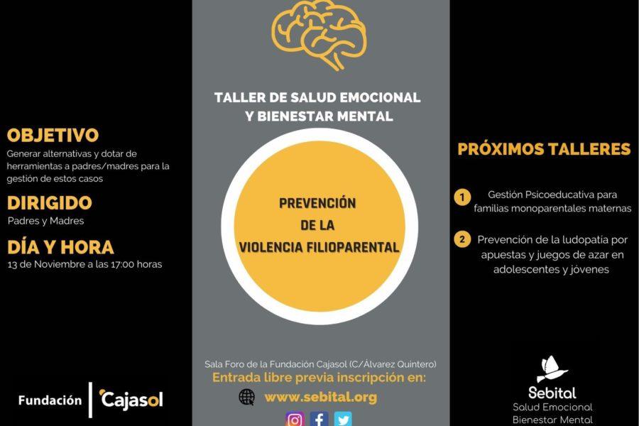 Taller de Sebital sobre prevención de la violencia filioparental