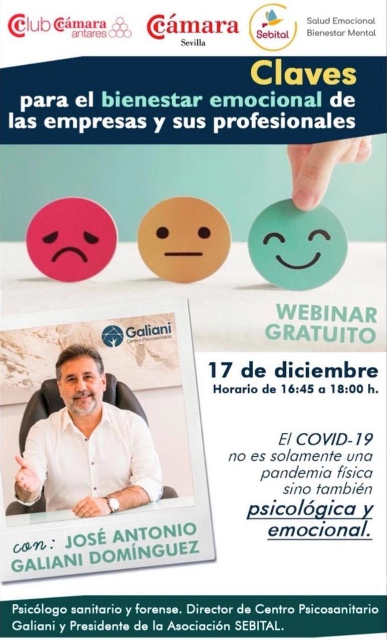 Webinar gratuito el bienestar emocional en las empresas tras el covid: Claves para el bienestar emocional en empresas y profesionales